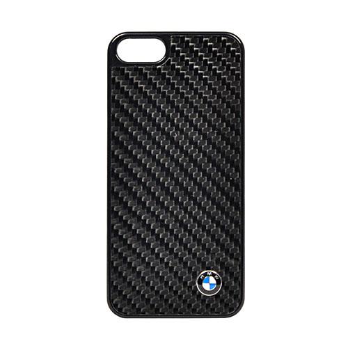 Чехол BMW Real Carbon Hard для iPhone 5/5s/SEЧехлы для iPhone 5s/SE<br>Чехол для iPhone5 BMW Real Carbon Hard<br><br>Цвет товара: Чёрный<br>Материал: Пластик