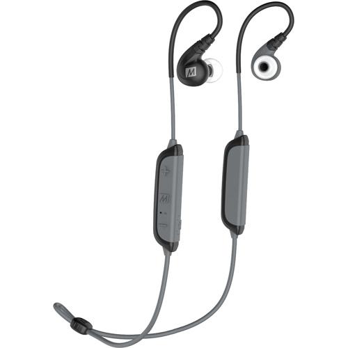 Беспроводные наушники MEE Audio X8 (bluetooth EP-X8-BK-MEE) чёрныеВнутриканальные наушники<br>MEE Audio X8 — функциональные и комфортные беспроводные наушники, созданные специально для занятий спортом.<br><br>Цвет товара: Чёрный<br>Материал: Пластик, силикон