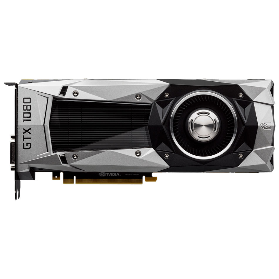 Видеокарта MSI GeForce GTX 1080 Founders Edition, GDDR5X 8 Гб, 10000 МГц
