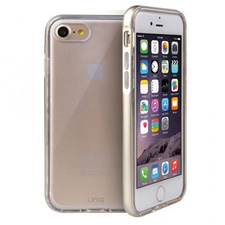 Чехол Uniq Aeroporte для iPhone 7 (Айфон 7) золотистыйЧехлы для iPhone 7<br>Чехол Uniq Aeroporte для iPhone 7 (Айфон 7) золотистый<br><br>Цвет товара: Золотой<br>Материал: Поликарбонат, полиуретан