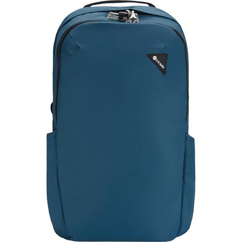 Рюкзак PacSafe Vibe 25 (Eclipse/Затмение) синийРюкзаки<br>Объём вместительного Pacsafe Vibe 25 составляет 25 литров, что позволит вам уместить в рюкзак много предметов.<br><br>Цвет товара: Синий<br>Материал: Текстиль, нержавеющая сталь, пластик