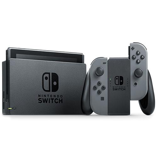 Игровая приставка Nintendo Switch сераяNintendo Switch и игры<br>Nintendo Switch – мобильная игровая консоль с возможностью трансформации!<br><br>Цвет товара: Серый<br>Материал: Пластик, металл