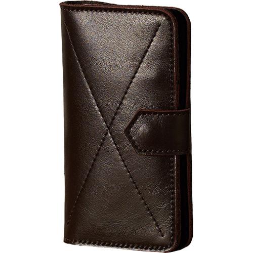 Чехол-бумажник Ray Button Kassel для iPhone 6/6s/7 коричневыйЧехлы для iPhone 7<br>Стильный чехол. Удобный бумажник.<br><br>Цвет товара: Коричневый<br>Материал: Натуральная кожа, войлок