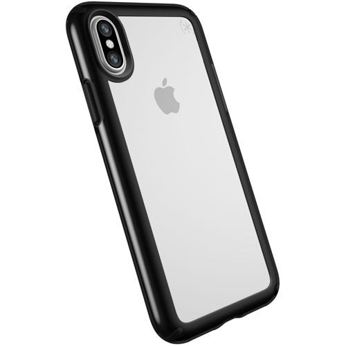 Чехол Speck Presidio Show для iPhone X прозрачный/чёрныйЧехлы для iPhone X<br>Speck Presidio Show защитит ваш iPhone X и придаст ему презентабельный внешний вид.<br><br>Цвет товара: Чёрный<br>Материал: Поликарбонат
