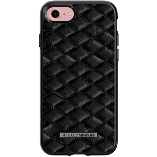 Чехол Rebecca Minkoff Double Up Protection Case для iPhone 7 Quilted Black