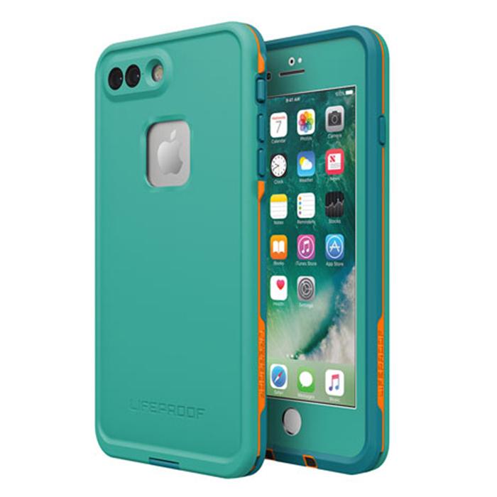 Чехол Lifeproof Fre для iPhone 7 Plus бирюзовыйЧехлы для iPhone 7 Plus<br>Lifeproof Fre для iPhone 7 Plus — водонепроницаемый и максимально лёгкий, прочный чехол.<br><br>Цвет товара: Бирюзовый<br>Материал: Пластик