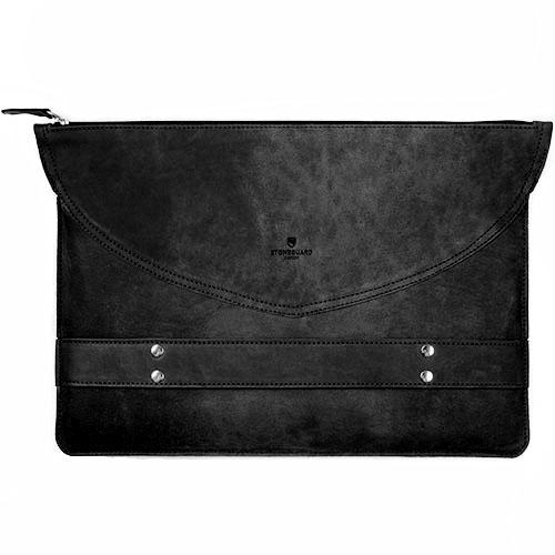 Кожаный чехол Stoneguard для MacBook 13 чёрный (521)Чехлы для MacBook Air 13<br>Кожаный чехол Stoneguard Moscow для MacBook Retina 13 model: 521 - Black<br><br>Цвет товара: Чёрный<br>Материал: Натуральная кожа, фетр