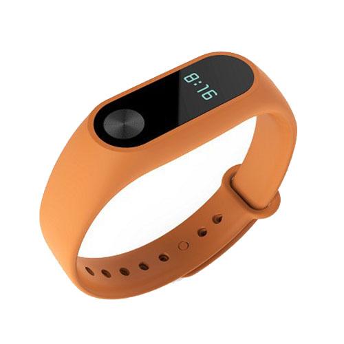 Браслет Xiaomi Mi Band 2 оранжевыйУмные браслеты<br>В Xiaomi Mi Band 2 используются самые современные и надежные технологии!<br><br>Цвет товара: Оранжевый<br>Материал: Пластик, силикон