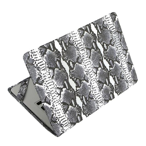 Чехол-обложка Alexander для MacBook 12 Retina питон бело-чёрныйЧехлы для MacBook 12 Retina<br>Элегантный и надежный чехол для MacBook 12 Retina от Alexander.<br><br>Цвет товара: Белый<br>Материал: Натуральная кожа