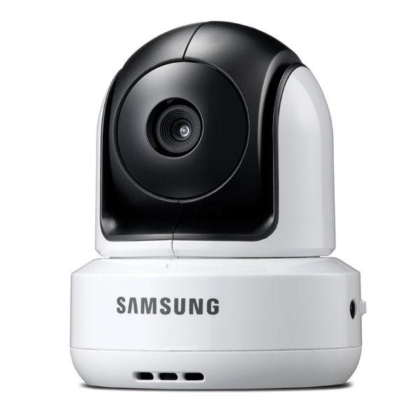 Видеоняня Samsung SEW-3041WУмные видеокамеры, няни<br>Samsung SEW-3041W - станет прекрасным помощником для родителей!<br><br>Цвет товара: Белый<br>Материал: Пластик
