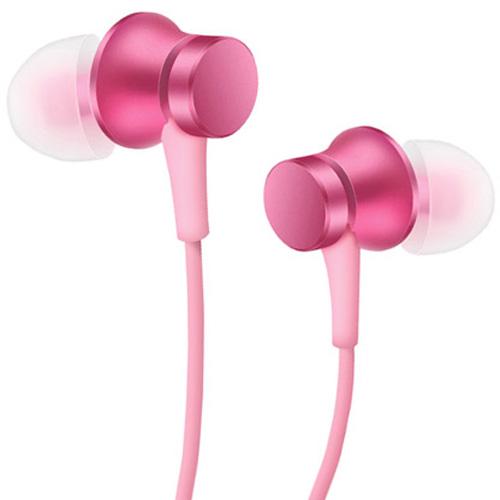 Наушники Xiaomi Refreshed Piston Earphones (Pure version) розовыеВнутриканальные наушники<br><br><br>Цвет товара: Розовый<br>Материал: Пластик, силикон