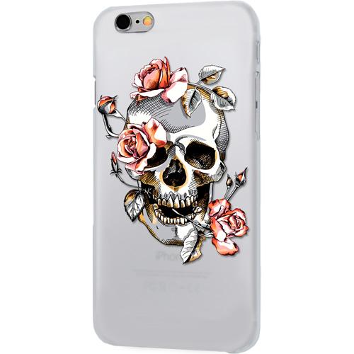 Чехол iPapai «Череп» (Розы) для iPhone 7Чехлы для iPhone 7<br>Чехол iPapai «Череп» для тех, кто обладает не только хорошим вкусом и оригинальностью, но и ценит безопасность своего гаджета.<br><br>Цвет товара: Серый<br>Материал: Силикон