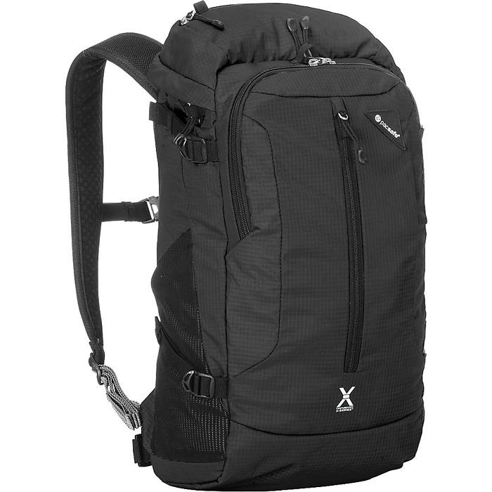 Рюкзак PacSafe Venturesafe X22 чёрныйРюкзаки<br>Ventursafe X22 — это комфорт, невероятно долгий срок службы и классный дизайн!<br><br>Цвет товара: Чёрный<br>Материал: Текстиль, нержавеющая сталь, пластик