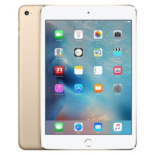 Apple iPad mini 4 128 Гб Wi-Fi + Cellular золотойiPad mini 4<br>Apple iPad mini 4 128 Гб Wi-Fi + Cellular золотой<br><br>Цвет товара: Золотой<br>Материал: Металл, пластик<br>Модификация: 128 Гб