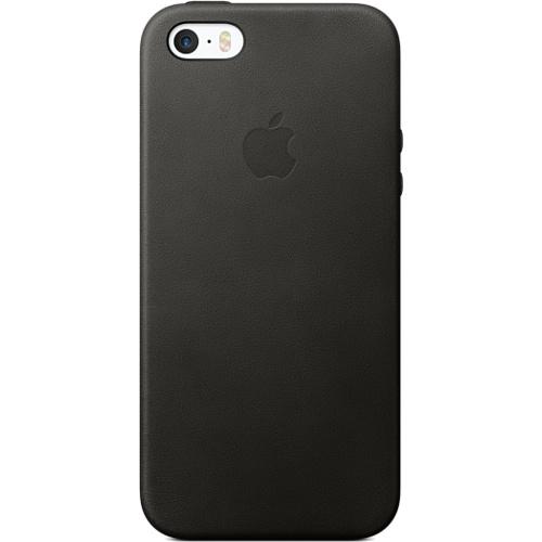 Кожаный чехол Apple Case для iPhone 5/5S/SE чёрныйЧехлы для iPhone 5s/SE<br>Кожаный чехол Apple Case для iPhone SE чёрный<br><br>Цвет товара: Чёрный<br>Материал: Натуральная кожа, пластик