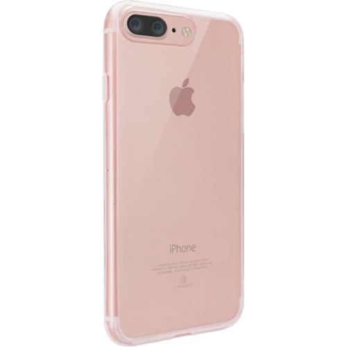 Чехол Ozaki O!coat Crystal+ для iPhone 7 Plus (Айфон 7 Плюс) прозрачный розовый
