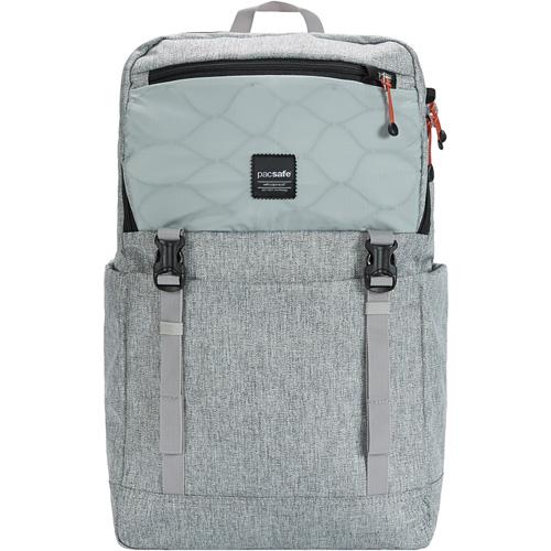 Рюкзак PacSafe Slingsafe LX500 (21 Л) Tweed Grey серыйРюкзаки<br><br><br>Цвет товара: Серый<br>Материал: Текстиль, нержавеющая сталь, пластик