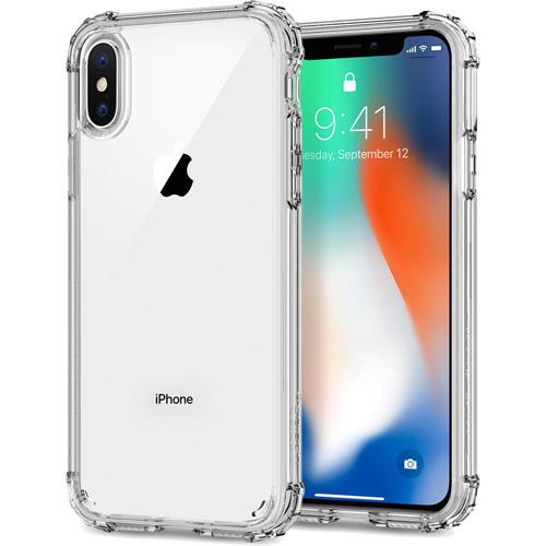 Чехол Spigen Crystal Shell для iPhone X кристально-прозрачный (057CS22141)Чехлы для iPhone X<br>Сочетание поликарбоната и термопластичного полиуретана придают чехлу Crystal Shell превосходные защитные и амортизирующие свойства.<br><br>Цвет товара: Прозрачный<br>Материал: Термопластичный полиуретан, поликарбонат