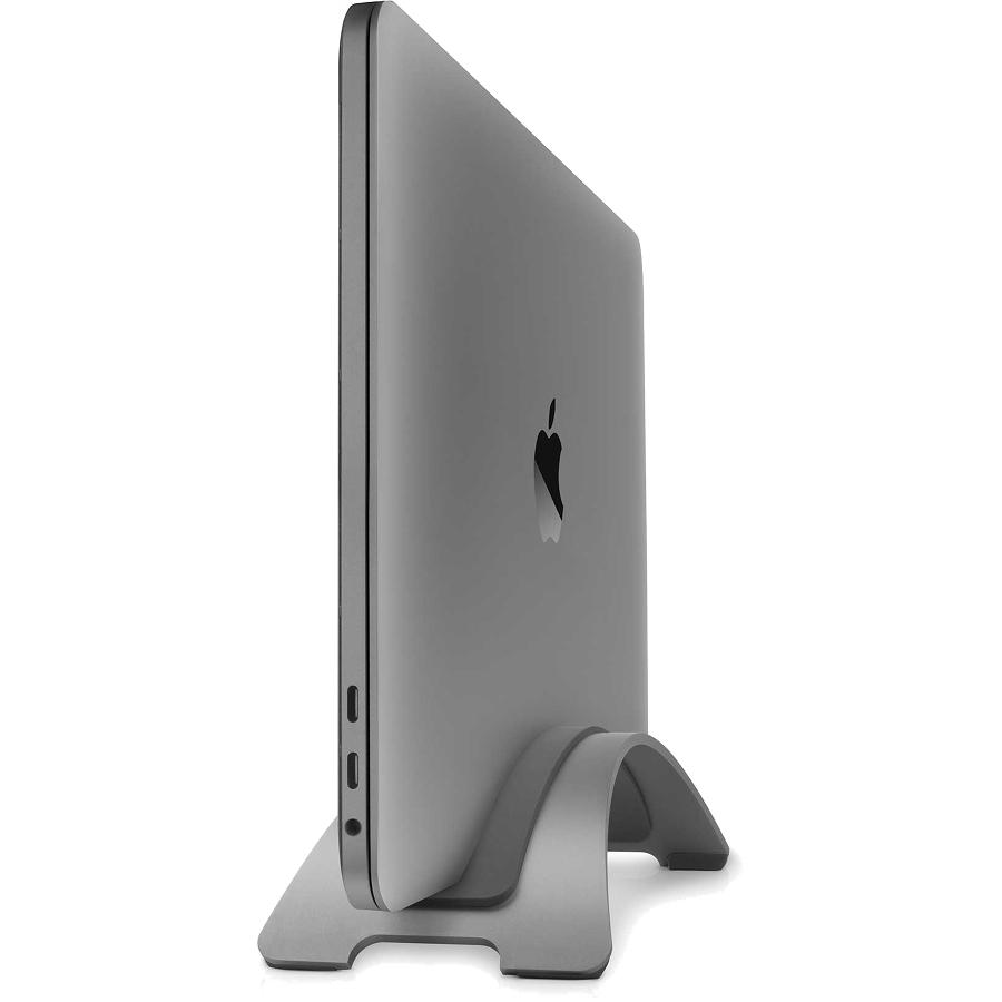 Подставка Twelve South BookArc для MacBook серый космосПодставки для Mac<br>TwelveSouth BookArc — это настоящее произведение искусства для вашего рабочего стола из матового алюминия.<br><br>Цвет товара: Серый космос<br>Материал: Алюминий, силикон