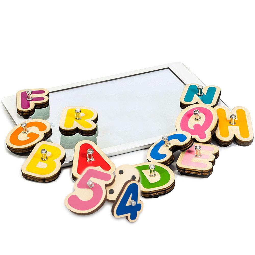 Игровой комплект Marbotic Smart Kit для iPadРазвивающие игры для детей<br>Обучайтесь играючи вместе с Marbotic!<br><br>Цвет товара: Разноцветный<br>Материал: Дерево, пластик