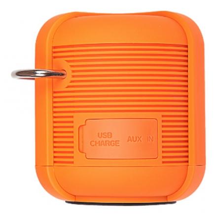 Влагозащищенная акустическая система RugGear Satellite оранжеваяКолонки и акустика<br>Акустическая система RugGear RG Satellite - оранжевая<br><br>Цвет товара: Оранжевый<br>Материал: Пластик, металл, силикон