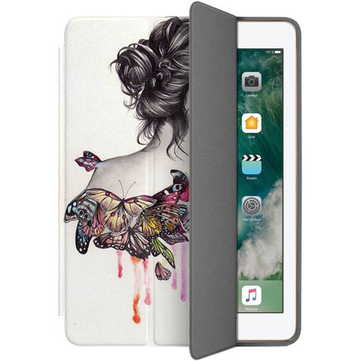 Чехол Muse Smart Case для iPad 9.7 (2017) БабочкиЧехлы для iPad 9.7 (2017)<br>Чехлы Muse — это индивидуальность, насыщенность красок, ультрасовременные принты и надёжность.<br><br>Цвет товара: Белый<br>Материал: Поликарбонат, полиуретановая кожа