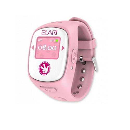 Детские часы-телефон Fixitime 2 Elari Pink c GPS/LBS/WiFi-трекером розовые (Фикситайм)Умные часы<br>С Fixitime 2 Ваш ребёнок всегда на связи!<br><br>Цвет товара: Розовый<br>Материал: Пластик, резина