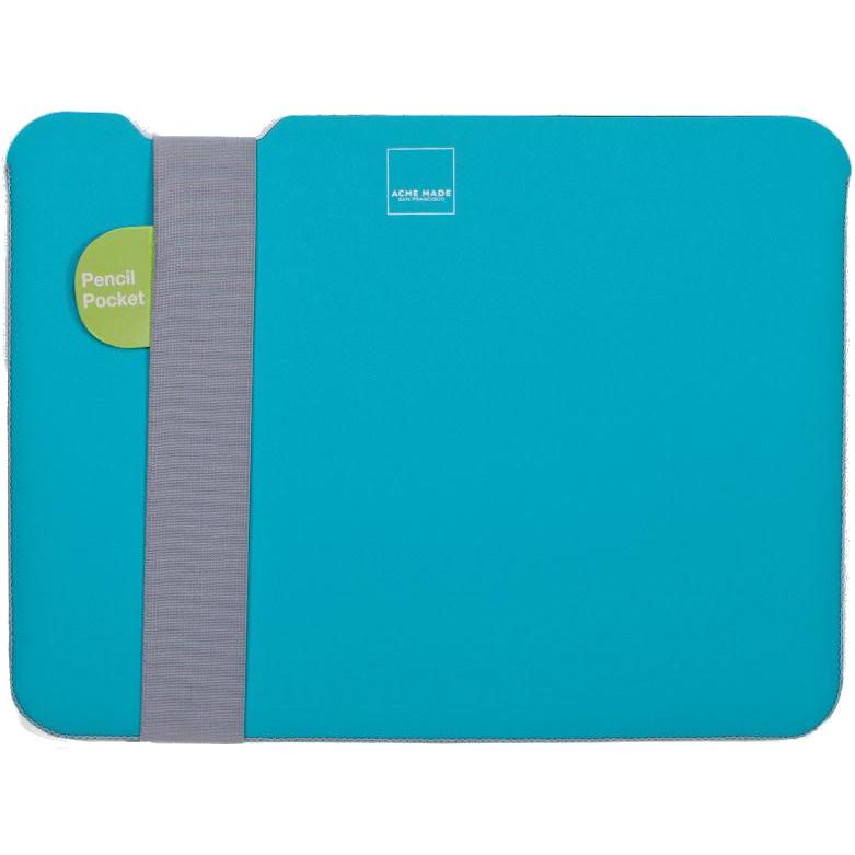 Чехол Acme Made Skinny Sleeve Small StretchShell Neoprene для MacBook Pro 13 (USB-C) / iPad Pro 12.9 бирюзовый / серыйMacBook Pro 13<br>Чехол Acme Made Sleeve Skinny — это простота, стиль и безопасность для вашего MacBook<br><br>Цвет: Бирюзовый<br>Материал: Неопрен, текстиль