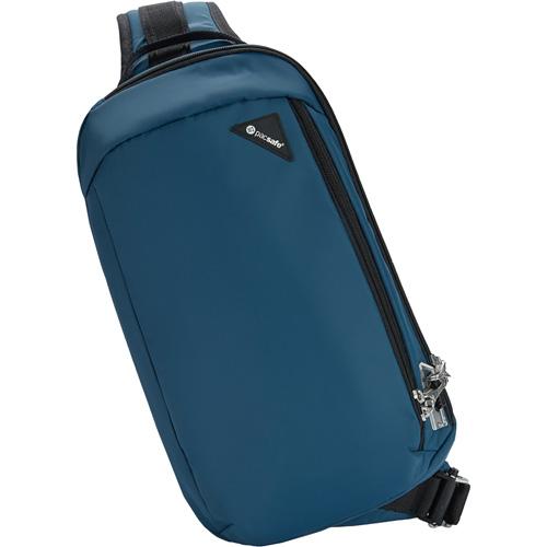 Сумка PacSafe Vibe 325 (Eclipse/Затмение) синяяСумки и аксессуары для путешествий<br>Сумка Pacsafe Vibe 325 обеспечит максимальную защиту для ваших вещей!<br><br>Цвет товара: Синий<br>Материал: Текстиль, нержавеющая сталь, пластик