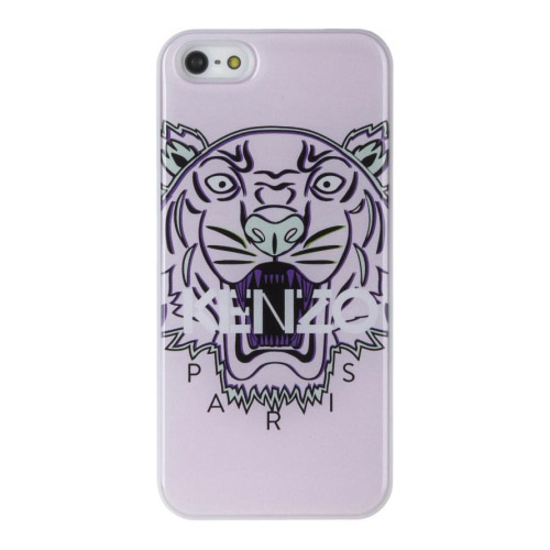 Чехол Kenzo Tiger Head Hard для iPhone 5S/SE бледно-розовыйЧехлы для iPhone 5s/SE<br>Чехол KENZO для iPhone 5/5s Tiger Hard Primrose<br><br>Цвет товара: Розовый<br>Материал: Пластик
