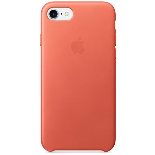 Кожаный чехол Apple Leather Case для iPhone 7 (Geranium) розовая гераньЧехлы для iPhone 7<br>Стильный и практичный чехол Apple Leather Case — идеальная пара вашему iPhone 7.<br><br>Цвет товара: Розовый<br>Материал: Натуральная кожа