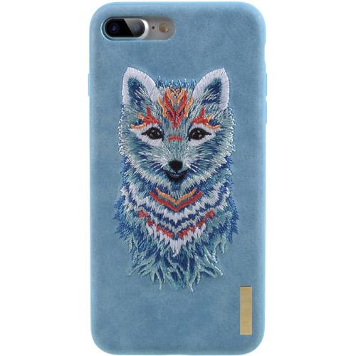 Чехол Nimmy Animal Denim для iPhone 7 Plus (Писец)Чехлы для iPhone 7 Plus<br>Оригинальный и надёжный чехол Nimmy Animal Denim притягивает взгляд окружающих с первой секунды.<br><br>Цвет товара: Голубой<br>Материал: Пластик, силикон, текстиль