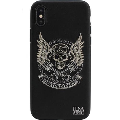 Чехол Luna Aristo Halley Series для iPhone X (Motor) чёрныйЧехлы для iPhone X<br>Оригинальный дизайн и надёжная защита!<br><br>Цвет: Чёрный<br>Материал: Пластик, текстиль