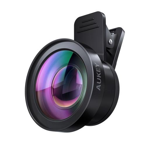 Объектив Aukey 2-in-1 Lens Set PL-WD06 (Ora 120° Wide Angle + 15X Macro) для смартфонов и планшетовОбъективы<br>Aukey 2-in-1 Lens Set PL-WD06 станет для вас отличным помощником!<br><br>Цвет товара: Чёрный<br>Материал: Алюминий, оптическое стекло