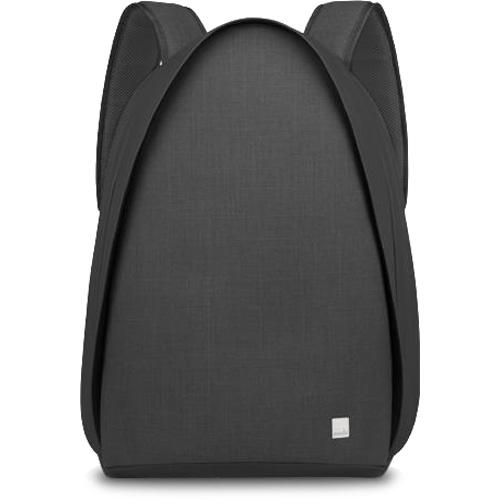 Рюкзак Moshi Tego Backpack для MacBook 15 чёрныйРюкзаки<br><br><br>Цвет товара: Чёрный<br>Материал: Влагоотталкивающая ткань, цинковый сплав (фурнитура), микрофибра