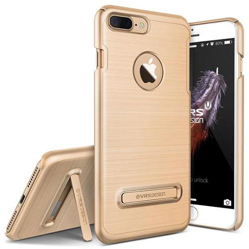 Чехол Verus Simpli Lite для iPhone 7 Plus (Айфон 7 Плюс) золотистый (VRIP7P-SPLGD)Чехлы для iPhone 7 Plus<br>Чехол Verus для iPhone 7 Plus Simpli Lite, шампань (904655)<br><br>Цвет товара: Золотой<br>Материал: Поликарбонат, полиуретан