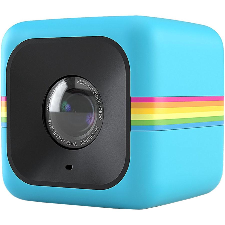 Камера Polaroid Cube+ синяяВидеокамеры, очки, экшн-камеры<br>С Polaroid Cube+ вы сможете снимать по-настоящему качественное видео!<br><br>Цвет товара: Синий<br>Материал: Пластик