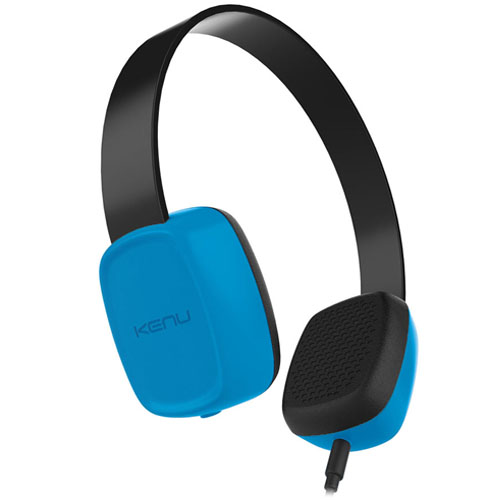 Наушники Kenu Groovies Kid Headphones синиеНакладные наушники<br>Наушники Kenu Groovies Kid Headphones синие<br><br>Цвет товара: Синий<br>Материал: Пластик, силикон