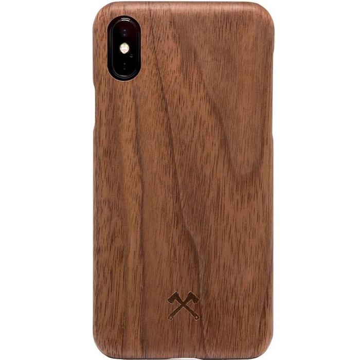 Чехол Woodcessories EcoCase Cevlar для iPhone X грецкий орехЧехлы для iPhone X<br>Woodcessories EcoCase Cevlar для iPhone X — невероятно красивый и удобный чехол для вашего смартфона!<br><br>Цвет: Коричневый<br>Материал: Дерево
