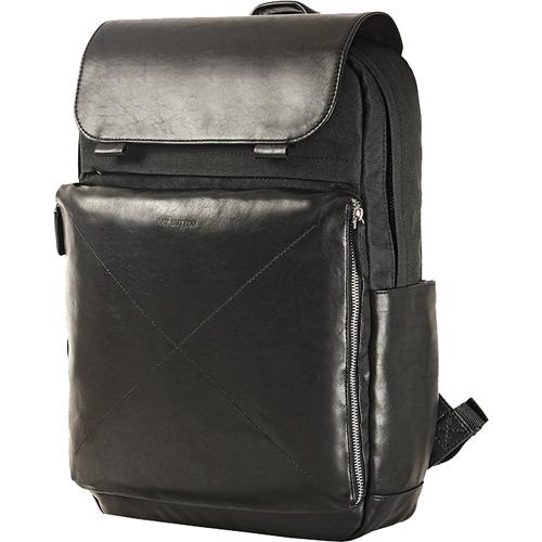 Рюкзак Ray Button Amsterdam (504C1) чёрныйРюкзаки<br>Рюкзак Ray Button серии «Амстердам» выполнен из натуральной кожи и прочной водоотталкивающей ткани.<br><br>Цвет товара: Чёрный<br>Материал: Натуральная кожа, текстиль, металл