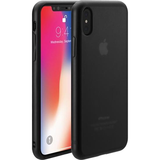 Чехол Just Mobile TENC для iPhone X чёрный матовыйЧехлы для iPhone X<br>Чехол Just Mobile TENC обладает способностью к «регенерации» — самовосстановлению поверхности.<br><br>Цвет товара: Чёрный<br>Материал: Поликарбонат, термопластичный полиуретан