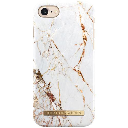 Чехол iDeal of Sweden Fashion Case для iPhone 8/7/6 (Carrara Gold)Чехлы для iPhone 6/6s<br>Надежный и яркий чехол iDeal of Sweden Fashion Case станет истинным украшением самого лучшего смартфона!<br><br>Цвет товара: Белый<br>Материал: Пластик, замша