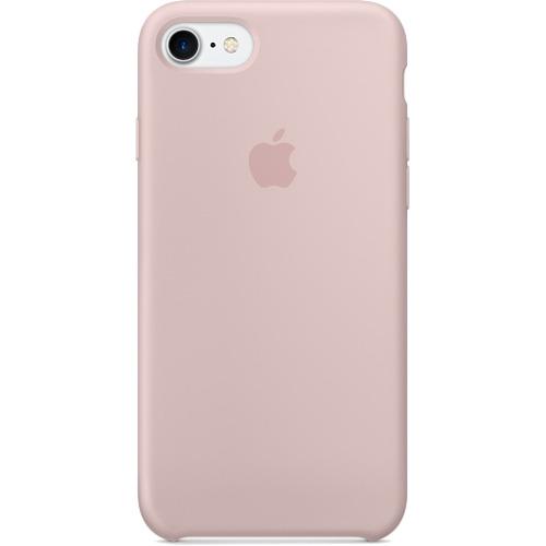 Силиконовый чехол Apple Case для iPhone 7 (Айфон 7) Pink Sand