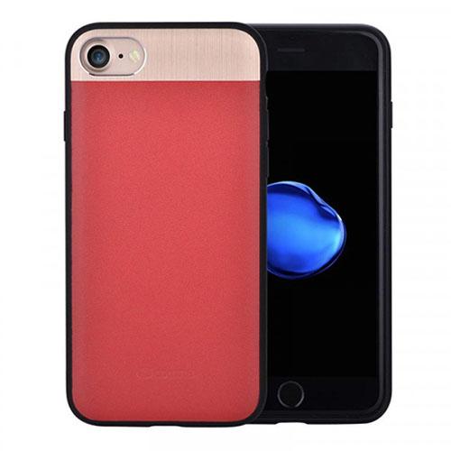 Чехол Comma Vivid Leather Case для iPhone 7 красныйЧехлы для iPhone 7/7 Plus<br>Comma Vivid Leather Case - кожаный чехол премиум-качества для iPhone 7.<br><br>Цвет товара: Красный<br>Материал: Натуральная кожа, алюминий, полиуретан