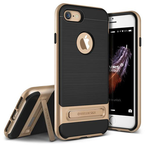Чехол Verus High Pro Shield для iPhone 7 (Айфон 7) золотистый (VRIP7-HPSGD)