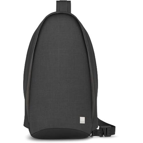 Рюкзак Moshi Tego Crossbody Sling чёрныйСумки и аксессуары для путешествий<br>Компактный и минималистичный рюкзак Tego Crossbody Sling от Moshi сочетает в себе функциональность и футуристический дизайн.<br><br>Цвет товара: Чёрный<br>Материал: Влагоотталкивающая ткань, цинковый сплав (фурнитура)