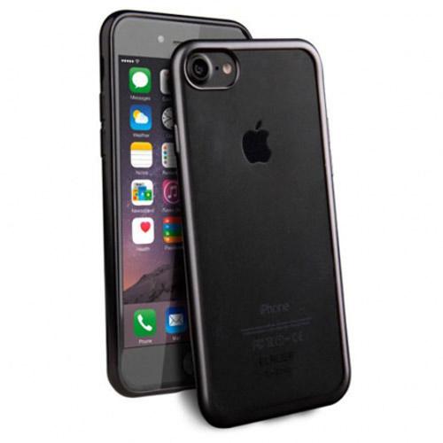 Чехол Uniq Glacier Frost для iPhone 7 (Айфон 7) чёрныйЧехлы для iPhone 7<br>«Застеклите» свой новенький iPhone 7 с помощью тонкого, прочного и прозрачного чехла Uniq Glacier Frost.<br><br>Цвет товара: Чёрный<br>Материал: Полиуретан, поликарбонат