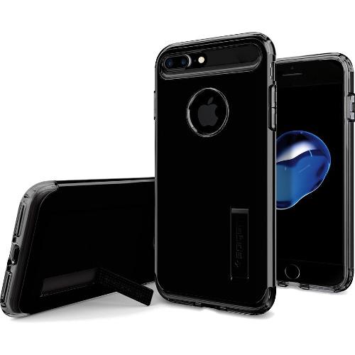 Чехол Spigen Slim Armor для iPhone 7 Plus ультра-черный (SGP-043CS20851)Чехлы для iPhone 7 Plus<br>Чехол Spigen Slim Armor - это тончайшая двухслойная защита для вашего iPhone 7 Plus.<br><br>Цвет товара: Чёрный<br>Материал: Поликарбонат, полиуретан