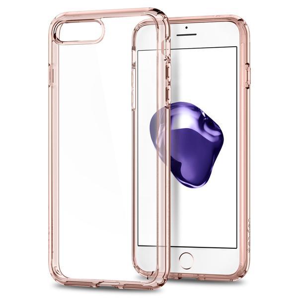 Чехол Spigen Ultra Hybrid 2 для iPhone 7 и 8 Plus (Айфон 7 Плюс) кристально-розовый (SGP-043CS21136)Чехлы для iPhone 7 Plus<br>Ultra Hybrid 2 - идеальный чехол тех, кто ценит максимальную функциональность!<br><br>Цвет товара: Розовый<br>Материал: Термопластичный полиуретан, поликарбонат