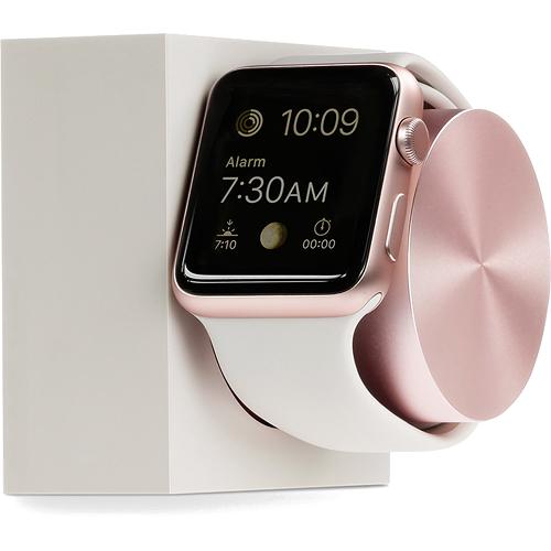 Док-станция Native Union Dock для Apple Watch бежевый/розовое золотоДокстанции Apple Watch<br>Native Union Dock отражает превосходный, продуманный и функциональный дизайн аксессуара для ваших Apple Watch.<br><br>Цвет: Бежевый<br>Материал: Сплав алюминия, пластик, силикон